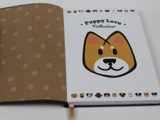 Internal cartoon Puppy Love theme as well as pages in the same design - Puppy Love Collection