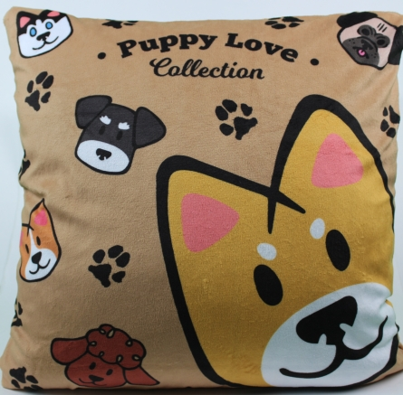 Puppy Love Cushion Cover - Puppy Love Collection