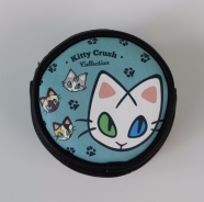Front of the Kitty Crush Pouch - Kitty Crush Collection